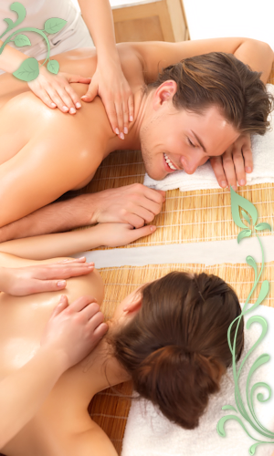 Couples Massage with Two Therapists