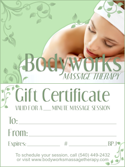 Booking Massage Sessions & Purchasing Gift Certificates
